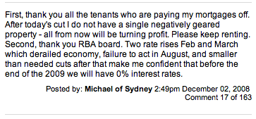 RBA slash rates